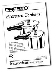 Presto Pressure Cooker Instructions and Recipes